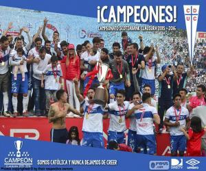 Puzle Universidad Católica, campeão de 2016