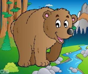 Puzle Urso pardo