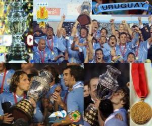 Puzle Uruguai, campeão da Copa América 2011