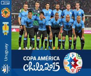 Puzle Uruguai Copa América 2015
