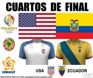 Puzle USA - ECU, Copa América 2016