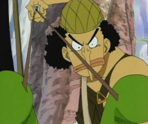 Puzle Usopp , atirador da tripulação de piratas e especialista em armas