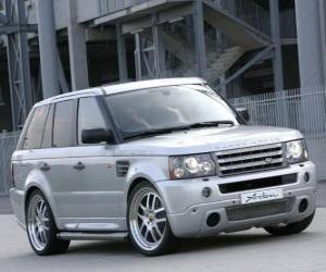 Puzle Utilitário esportivo - Range Rover