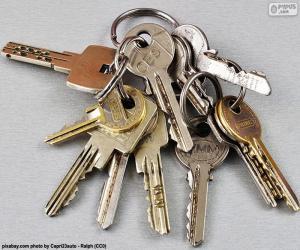 Puzle Várias chaves