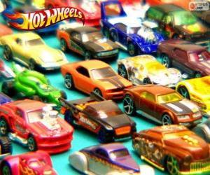 Puzle Vários carros Hot Wheels