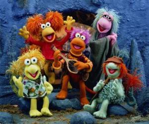 Puzle Vários Muppets cantando