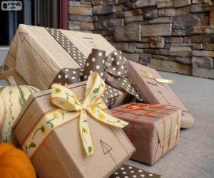 Puzle Vários presentes de Natal
