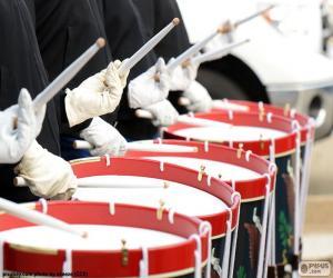 Puzle Vários tambores