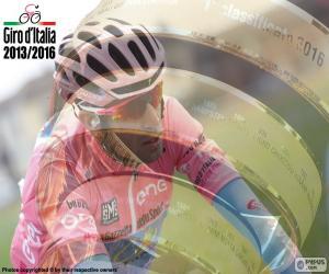 Puzle V. Nibali, Giro da Itália 2016