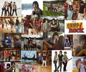 Puzle Várias fotos de Camp Rock
