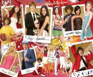 Puzle Várias fotos de High School Musical 3
