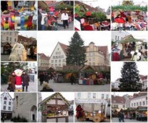 Puzle Várias imagens do Natal