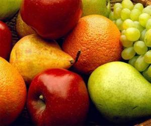 Puzle Variedade de frutas