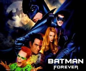 Puzle Vários personagens de Batman
