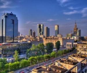 Puzle Varsóvia, Polônia