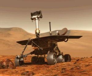 Puzle Veículo espacial não tripulado da investigação na superfície lunar