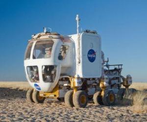 Puzle Veículo para a exploração de outros planetas