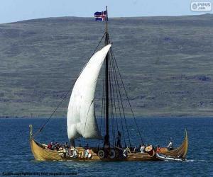 Puzle Veleiro de Viking