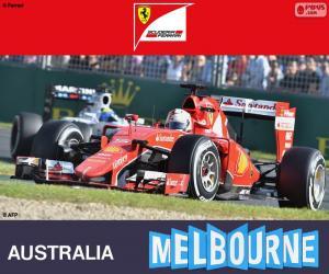 Puzle Vettel G.P Austrália 2015