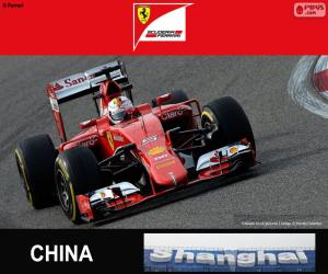Puzle Vettel G.P China 2015