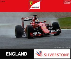 Puzle Vettel, G.P da Grã-Bretanha 2015