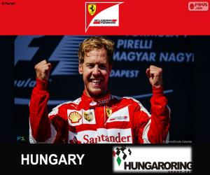 Puzle Vettel G.P da Hungria 2015