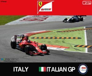Puzle Vettel, GP da Itália de 2015