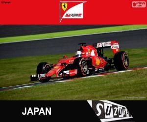 Puzle Vettel G.P Japão 2015