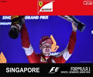 Puzle Vettel G.P Singapore 2015