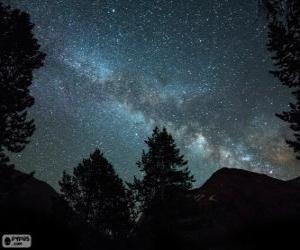 Puzle Via Láctea