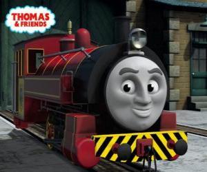 Puzle Victor é o chefe da Oficina Ferroviária de Sodor