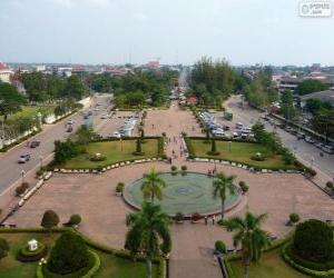 Puzle Vienciana ou Vientiane, Laos
