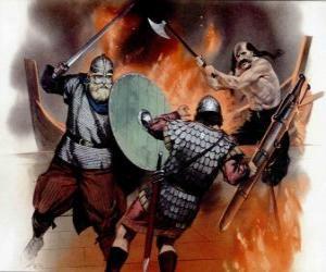 Puzle Vikings luta