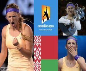 Puzle Viktoria Azarenka campeão aberto de Austrália de 2013