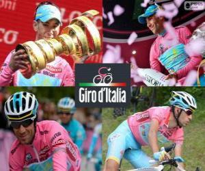 Puzle Vincenzo Nibali, campeão do Giro da Itália 2013