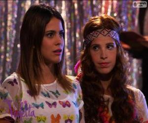 Puzle Violetta e Camila