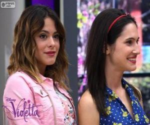 Puzle Violetta e Francesca