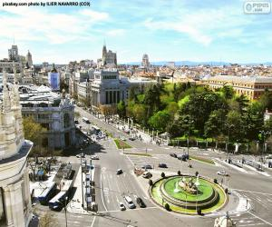 Puzle Vista de Madrid, Alcalá-Gran Vía