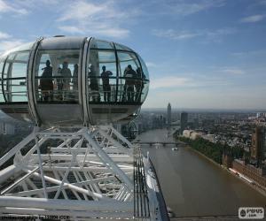 Puzle Vista do London Eye