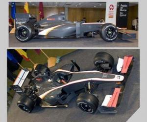 Puzle Vista lateral e Aerial F1 HRT