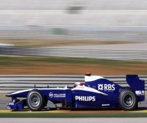 Puzle Vista lateral, Williams FW32