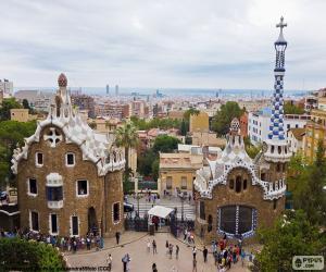 Puzle Visualização de Barcelona