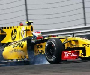 Puzle Vitaly Petrov - Renault - Istambul 2010