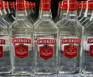 Puzle Vodka Smirnoff