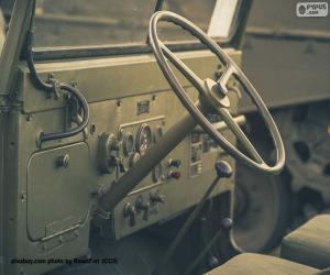 Puzle Volante de um Jeep Willys