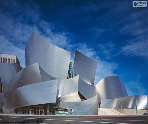 Puzle Walt Disney Concert Hall, EUA