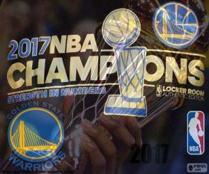Puzle Warriors, campeões da NBA 2017