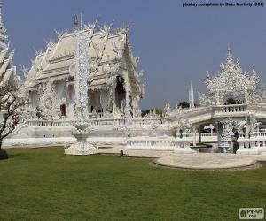 Puzle Wat Rong Khun, Tailândia