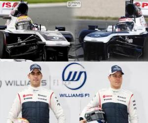 Puzle Williams F1 Team 2013