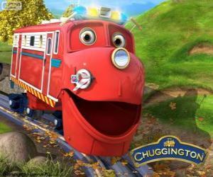 Puzle Wilson, o locomotivo protagonista de Chuggington